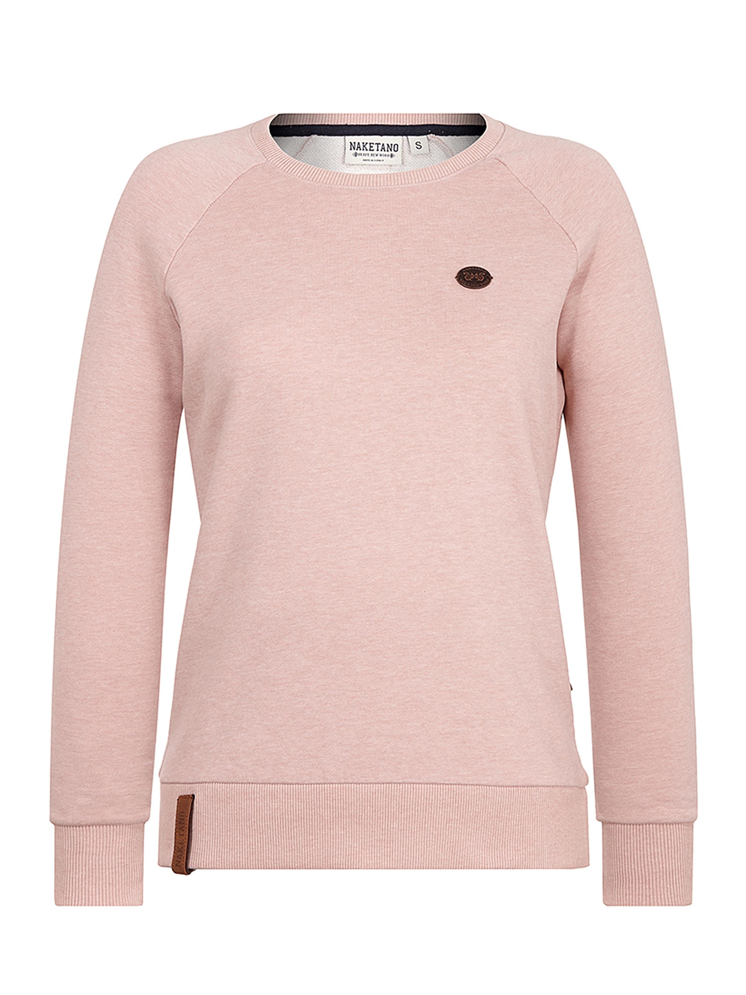 shirt Rose Pastel Naketano En Sweat XOkiTPZu