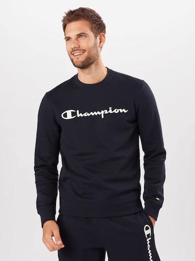 Champion Authentic Athletic Apparel Sweatshirt in navy / weiß, Modelansicht