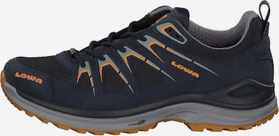 LOWA Lage schoen in de kleur Navy / Sinaasappel: Vooraanzicht