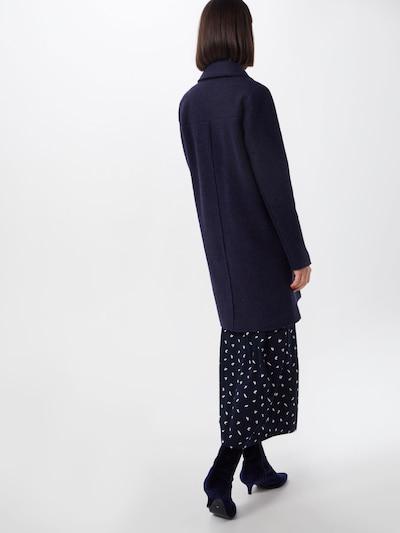 Rudeninis-žieminis paltas 'Knitted Wool' iš EDC BY ESPRIT , spalva - tamsiai mėlyna: Vaizdas iš galinės pusės