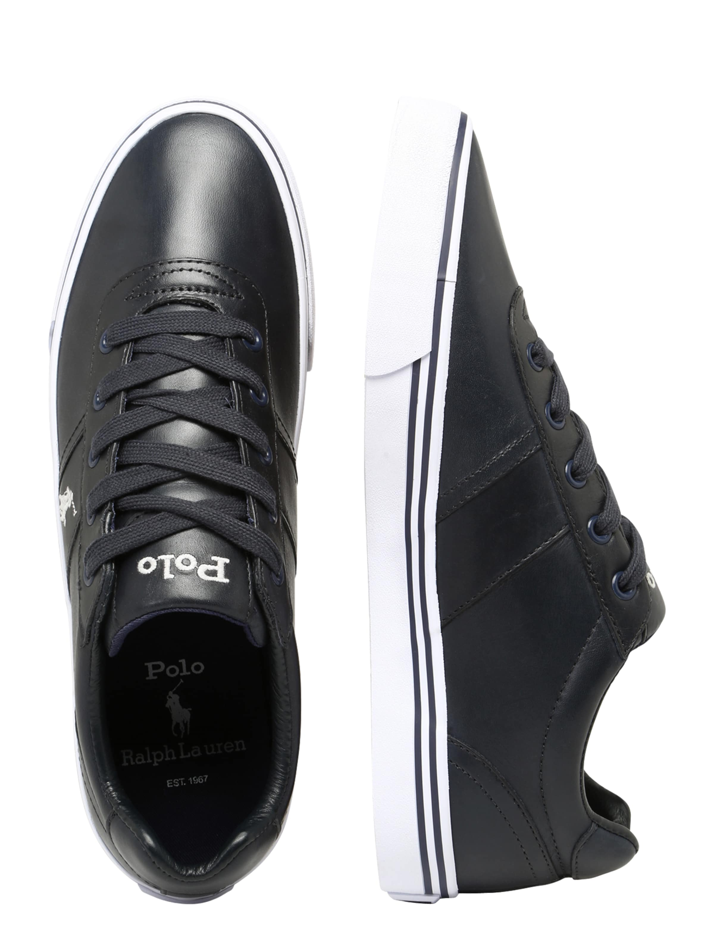 In Lauren Ralph Polo Sneaker Navy 'hanford' rBxdCoWe