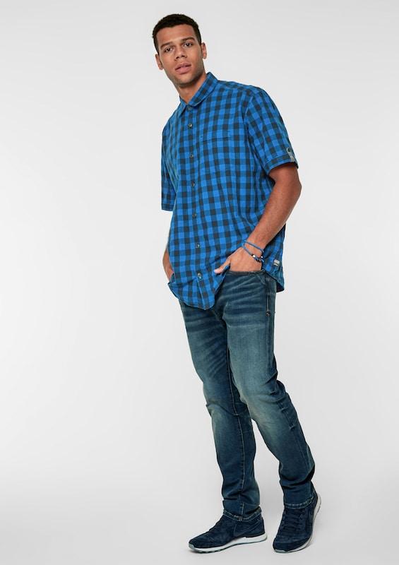 S.Oliver S.Oliver S.Oliver rot LABEL Karohemd in blau   schwarz  Mode neue Kleidung 895504