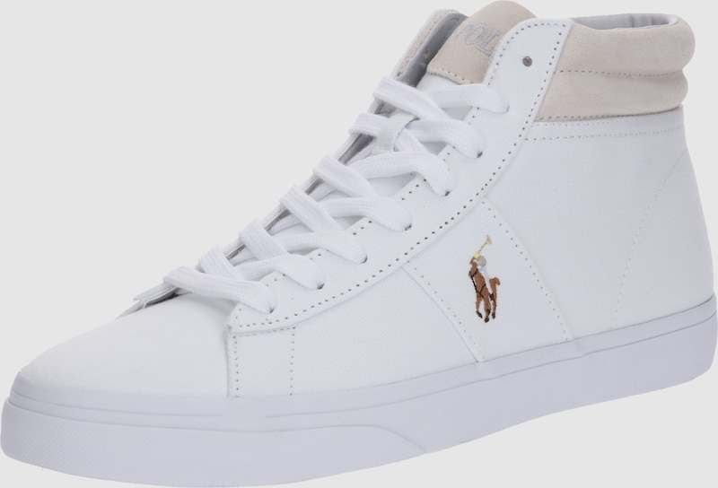 fedbb6ef169 POLO RALPH LAUREN Sneakers hoog 'Shaw Ne Canvas' in Wit | ABOUT YOU