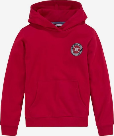 Tom Tailor Polo Team Sweatshirt in rot: Frontalansicht