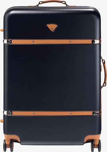 Jump Trolley 'Riviera' in ultramarinblau / apricot, Produktansicht