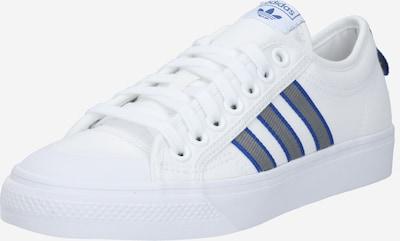 ADIDAS ORIGINALS Buty sznurowane 'NIZZA' w kolorze niebieski / szary / białym, Podgląd produktu