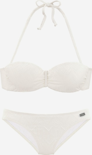 BUFFALO Bikini in wollweiß, Produktansicht