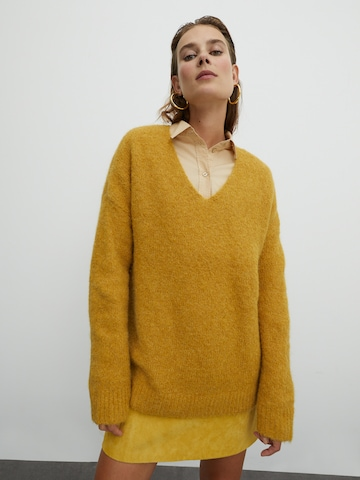 EDITED Πουλόβερ 'Fawini' σε κίτρινο