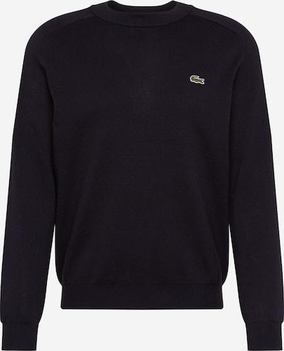 Lacoste LIVE Sweatshirt 'TRICOT' in schwarz, Produktansicht