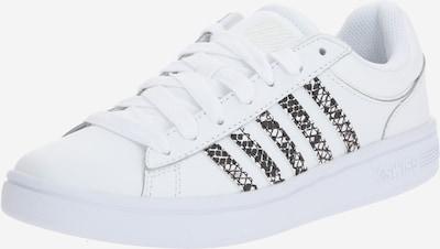 K-SWISS Sneaker 'Court Winston' in braun / weiß, Produktansicht