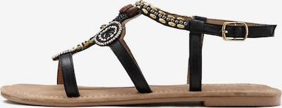 LASCANA Sandale in mischfarben / schwarz, Produktansicht