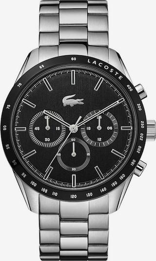 LACOSTE Uhr in schwarz / silber, Produktansicht