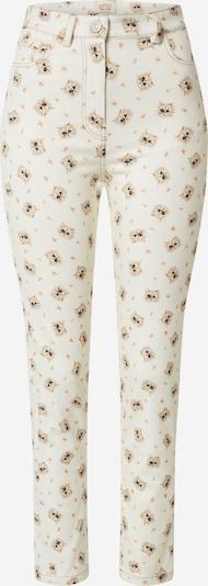 PAUL & JOE SISTER Pantalon 'GAROCHAT' en mélange de couleurs / blanc, Vue avec produit
