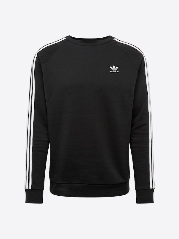 ADIDAS Sweatshirt mit Raglanärmeln in Grau Schwarz online