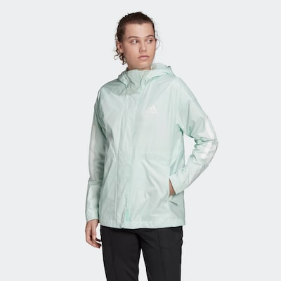 ADIDAS PERFORMANCE Jacke in mint: Frontalansicht