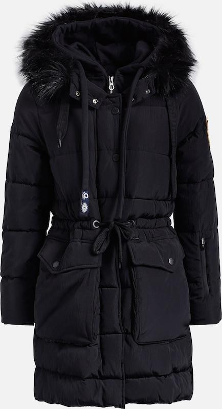 Khujo Mantel 'ATLANA' in schwarz  Große Preissenkung Preissenkung Preissenkung 8cc835