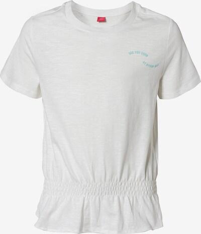 s.Oliver Junior T-Shirt in weiß, Produktansicht