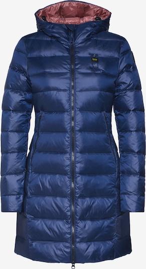 Blauer.USA Manteau d'hiver 'IMPERMEABILE LUNGHI IMBOTTITO PIUMA' en bleu, Vue avec produit