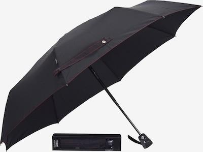 bugatti Taschenschirm in schwarz, Produktansicht