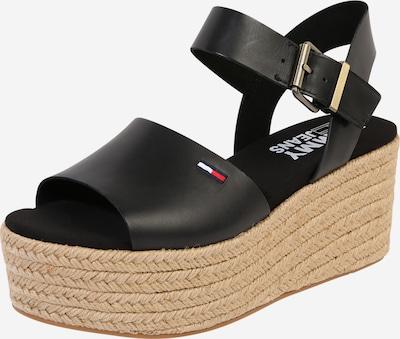 Tommy Jeans Sandały z rzemykami 'DANIELA 2A' w kolorze beżowy / czarnym, Podgląd produktu