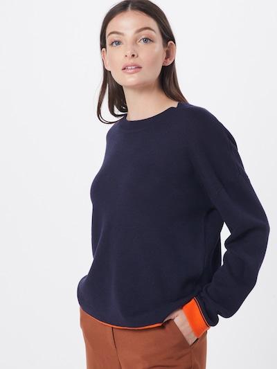 s.Oliver Pullover in blau / orange, Modelansicht