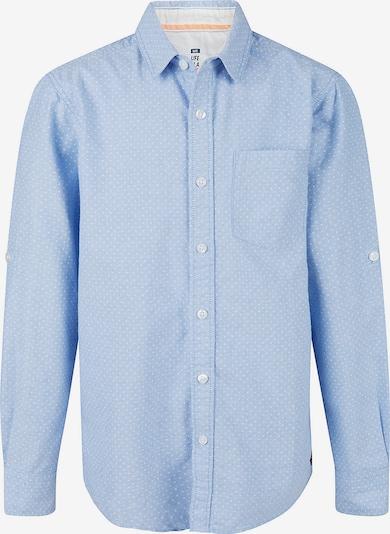 WE Fashion Langarmhemd 'Dirck' in hellblau / weiß, Produktansicht