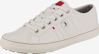 s.Oliver Sneakers Low in weiß, Produktansicht