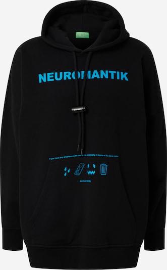 DIESEL Sweatshirt 'S-OXI' in blau / schwarz, Produktansicht