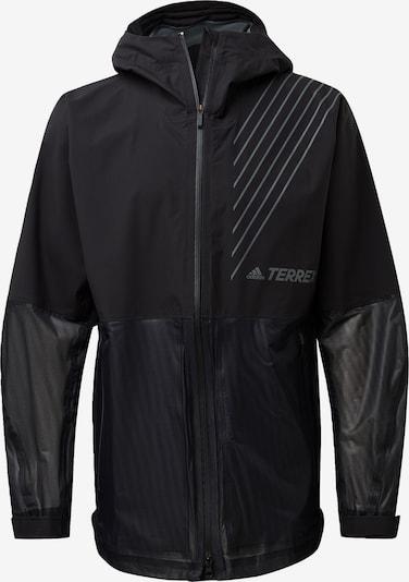 adidas Terrex Sportjacke in grau / schwarz, Produktansicht