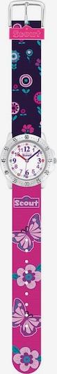 SCOUT Uhr in mischfarben / pink, Produktansicht