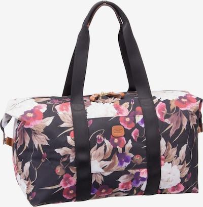 Bric's Reisetasche 'X-Bag' in lila / rosa / schwarz, Produktansicht