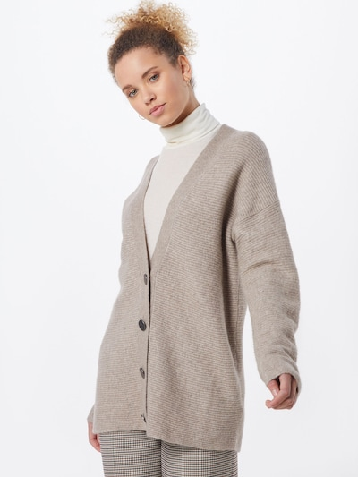 ESPRIT Strickjacke  'cardigan struct' in beige, Modelansicht