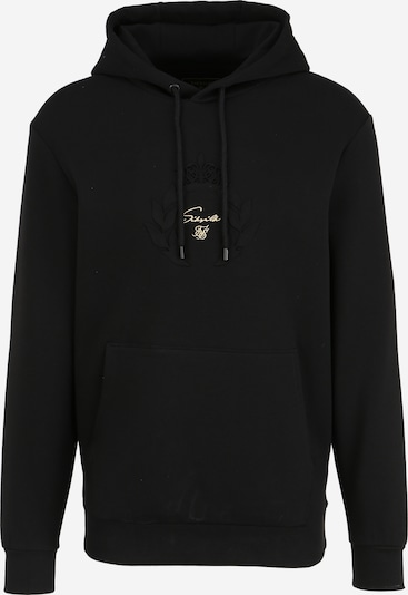 SikSilk Sweatshirt 'siksilk x dani alves' in gold / schwarz, Produktansicht