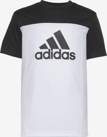 ADIDAS PERFORMANCE Trainingsshirt in Weiß