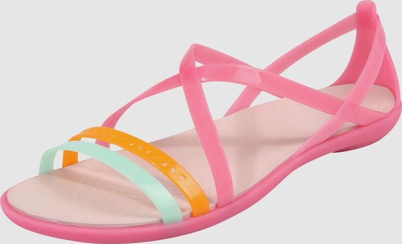 Crocs Sandalette 'Isabella Cut Strappy Synthetik Verkaufen Sie saisonale Aktionen