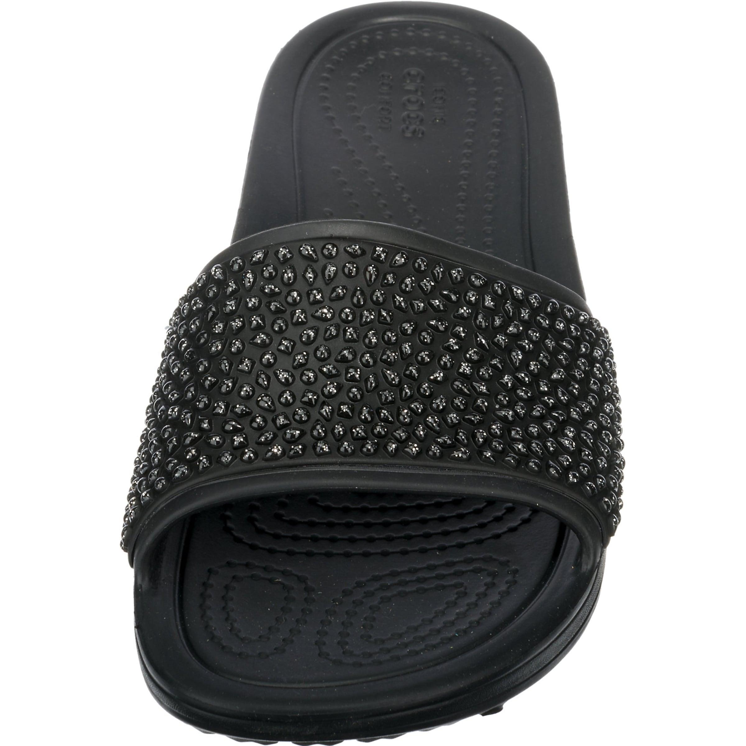 Auslass Sehr Billig Verkauf Beliebt Crocs Komfort-Pantoletten 'Sloane Embellished Slide' Günstig Kaufen Günstigsten Preis bxdlN