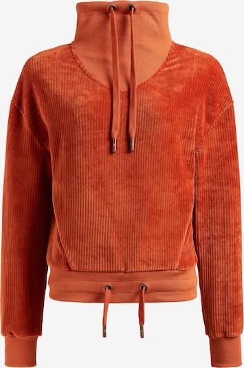 khujo Sweatshirt 'Helen' in de kleur Cognac, Productweergave