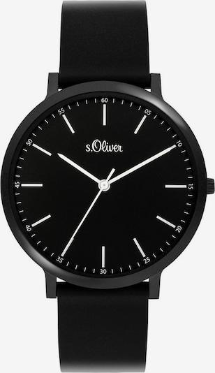 s.Oliver Uhr '3948-PQ' in schwarz, Produktansicht