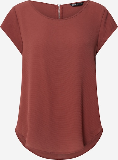 ONLY Blusa en marrón rojizo, Vista del producto