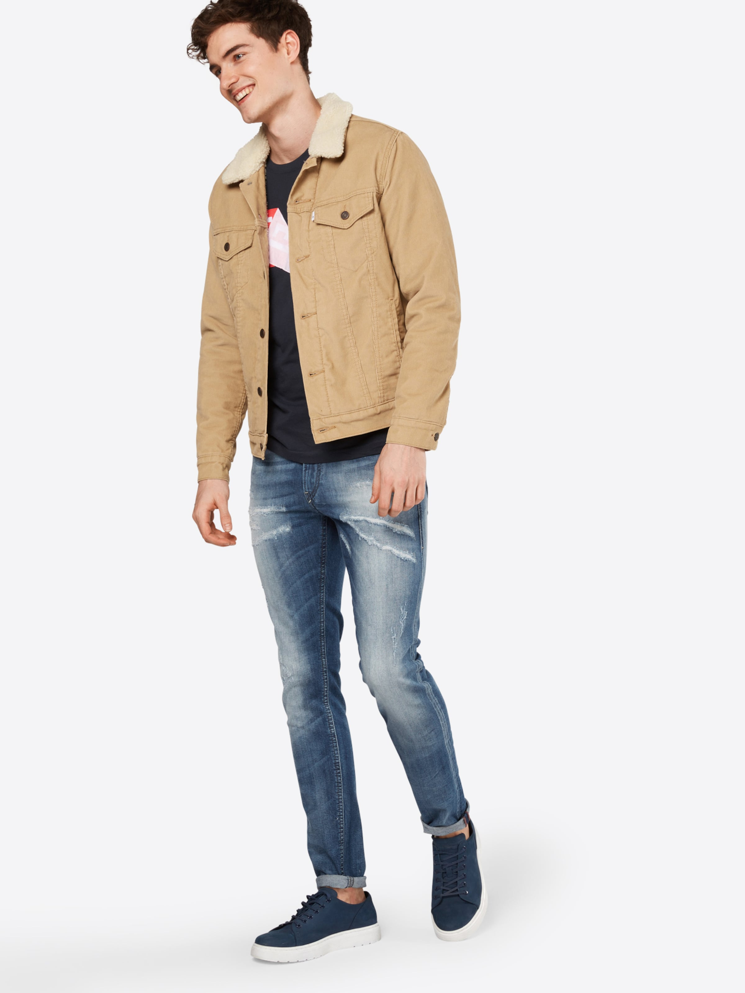 DIESEL 'Thommer' Jeans Skinny Fit 845F Steckdose Exklusive Verkauf Truhe Finish pyHAdKhFb