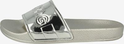 BJÖRN BORG Pantolette ' HARPER II MET ' in silbergrau / silber, Produktansicht