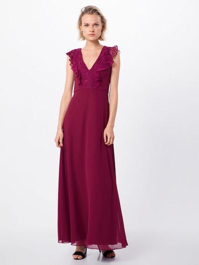 Vakarinė suknelė iš SWING , spalva - vyno raudona spalva: Vaizdas iš priekio