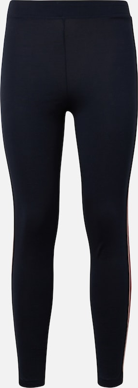 TOM TAILOR Leggings in navy / puder / feuerrot, Produktansicht