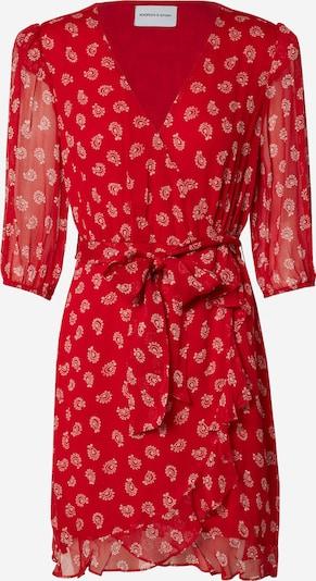 THE KOOPLES SPORT Kleid 'ROBE' in rot / weiß, Produktansicht