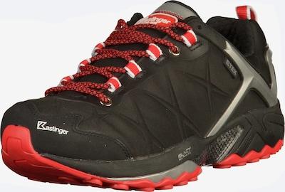 Kastinger Wanderschuhe in rot / schwarz, Produktansicht