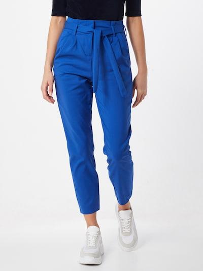 Klostuotos kelnės 'VISOFINA HW 7/8 PANT' iš VILA , spalva - tamsiai mėlyna, Modelio vaizdas