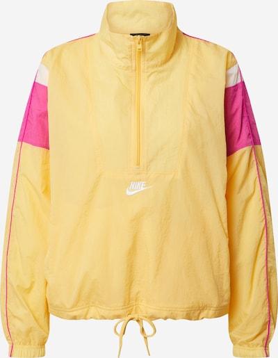 Nike Sportswear Veste mi-saison en jaune / rose / blanc, Vue avec produit