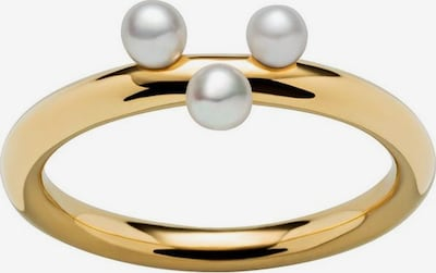 M&M GERMANY Ring 'Ocean Collection' in gold / perlweiß, Produktansicht