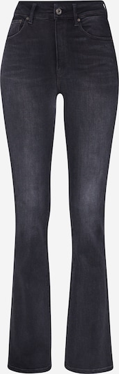 G-Star RAW Jeans '3301 High Flare Wmn' in de kleur Black denim, Productweergave