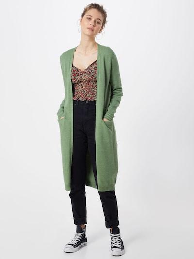 VILA Strickcardigan `Ril´ in oliv, Modelansicht